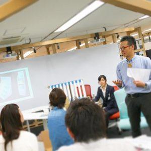 今回の講師 デザインチーム 原田
